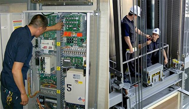 bảo trì bảo dưỡng thang máy